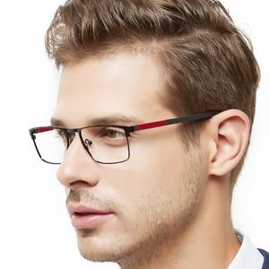 Image 5 - OCCI CHIARI גברים משקפיים מסגרת משקפיים אופטיים מסגרות ברור עדשת זכר משקפיים Oculos דה גראו יום אב מתנה W CRIFO