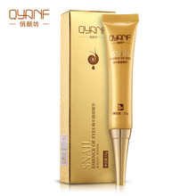 QYANF The Snail Eye Essence Beauty Skin Care Eye Serum Instantly Ageless Anti Aging Anti Wrinkle Remove Dark Circle Whitening