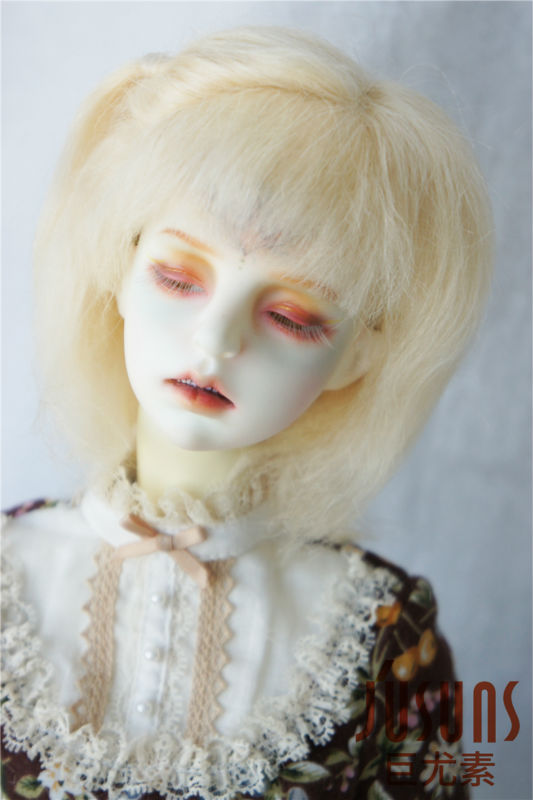 JD189 SD Fashion BJD Mohair doll wigs Classical Mohair for 1/3 BJD dolls Size 8-9 inch wig porcelain doll accessories wowhot 1 4 bjd sd doll wigs for dolls high temperature wires short straight bangs fashion wig 1 6 1 3 for dolls accessories toy