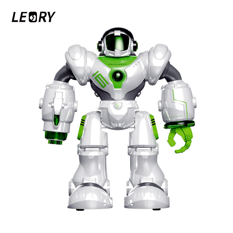 LEORY Remote Control Voice Control Robot Toys For Children Education RC Intelligent Humanoide Robotica Combat Fight With USB ...