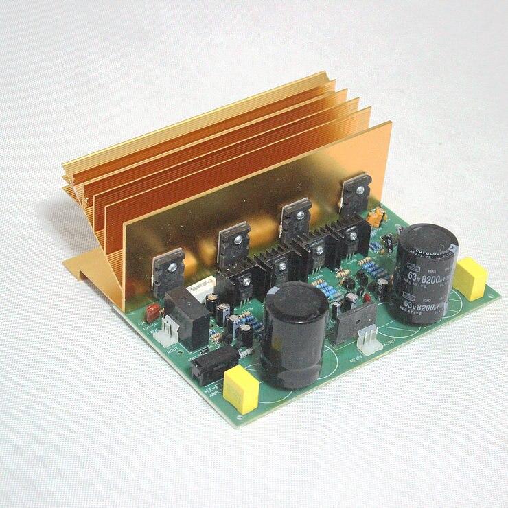 2cs5200 2sa1943 500w high power 2 0 pure post amplifier board subwoofer dj power amplifier. Black Bedroom Furniture Sets. Home Design Ideas