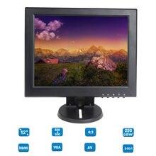 Eyoyo 12″ TFT LCD HD 800×600 Monitor HDMI VGA BNC Video Audio for CCTV Cam DVD PC Game