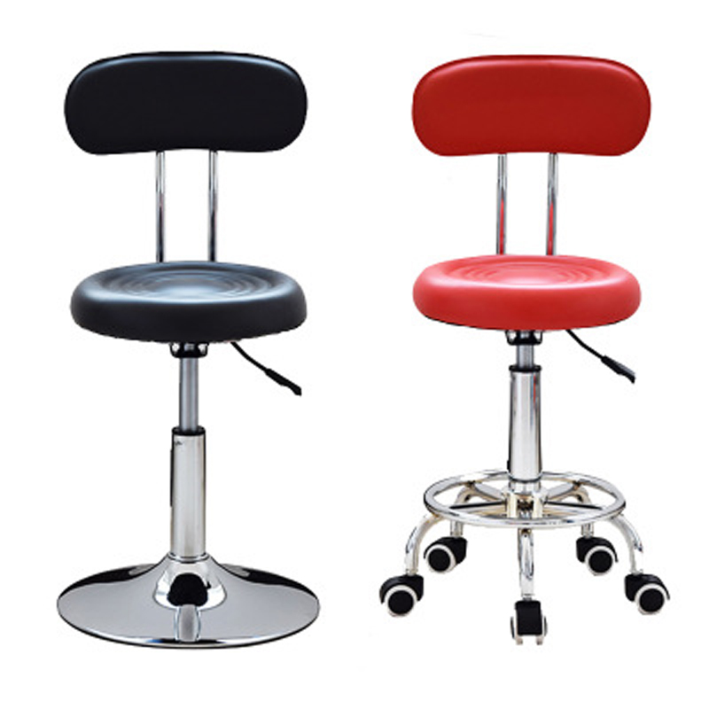Styling accessory Multi-function Hairdressing Stool Rotating Chair Multi-colored Metal Fashionable and Simple Beauty Bench
