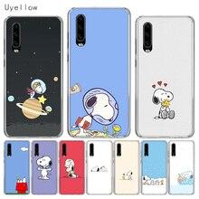 Uyellow Luxury Soft Phone Case For Huawei P10 P20 P30 Lite Pro Hawei Mate 10 20 lite P Smart 2019 Cartoon Anime Cute Snoopys