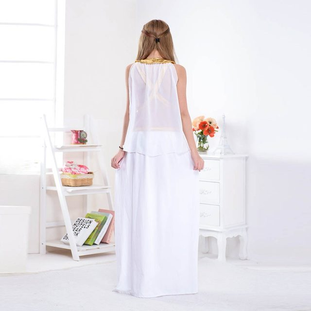 Online Shop Women Greek Goddess Venus Costumes Arabian Princess ...
