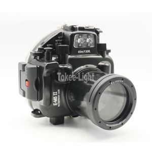 Image 2 - 40M 130ft Waterproof Underwater Diving Camera Housing Case for Olympus O MD E M5 Mark II OMD EM5 II + 12 50 f/3.5 6.3 Lens