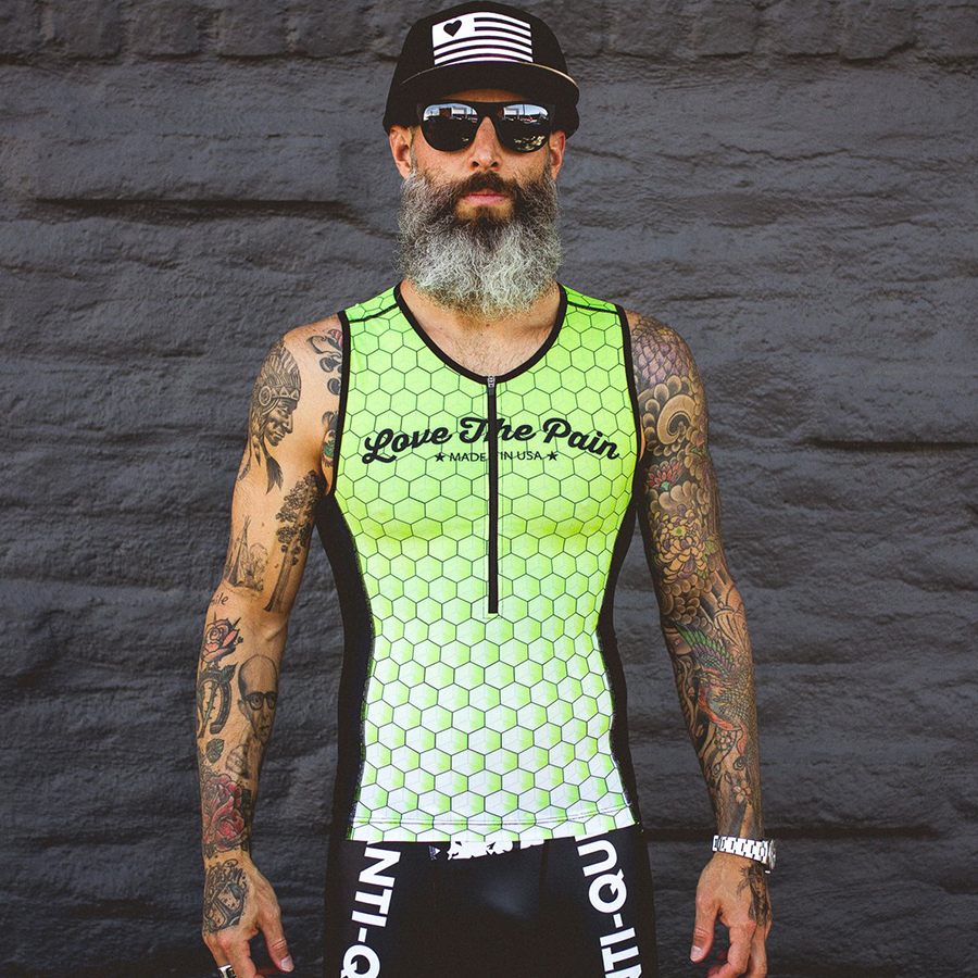 Love the pain 2019 Pro Team Triathlon Suit mens sleeveless Cycling Jersey Skinsuit Jumpsuit Maillot Cycling Ropa ciclismo setLove the pain 2019 Pro Team Triathlon Suit mens sleeveless Cycling Jersey Skinsuit Jumpsuit Maillot Cycling Ropa ciclismo set