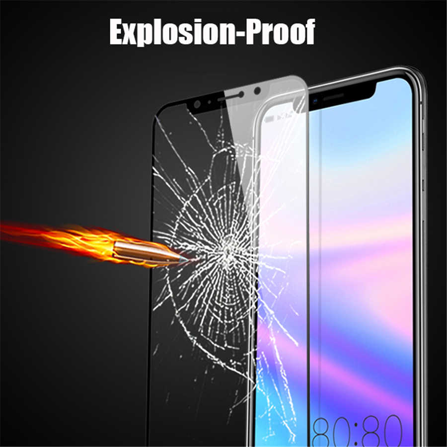 Para Xiaomi Red mi Note 6 Pro protector de vidrio Choetech 9 H pegamento completo vidrio templado para Xiao mi Red mi 6 Pro Film Protector de pantalla