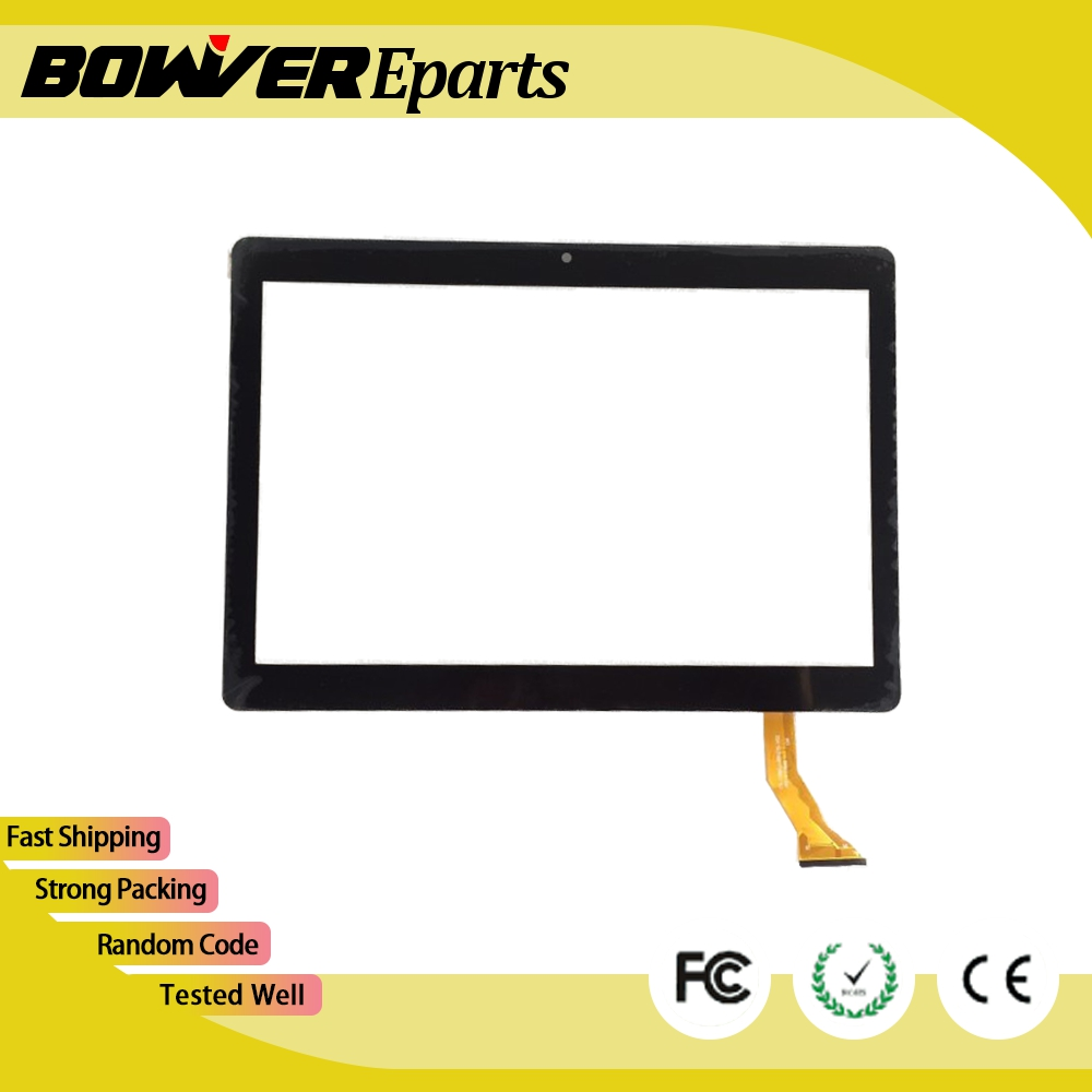 A+ White or black New Touch screen For 10 inch BDF Tablet DH/CH-1096A1 FPC276 V02 Touch panel Digitizer Glass Sensor replacement new white black 10 1 inch tablet qsd e c100016 02 touch screen digitizer glass touch panel replacement sensor icoo icou10gt