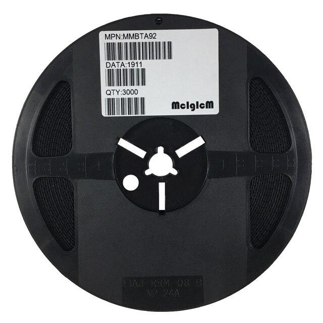 MCIGICM 3000 adet MMBTA92, SOT 23 1D MMBTA92LT1G yüksek gerilim transistörleri