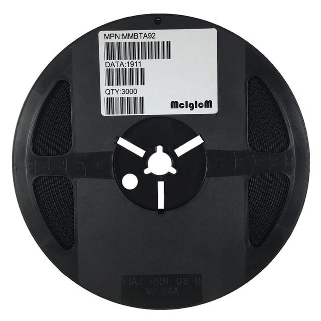 Mcigicm 3000 個 MMBTA92 、 sot 23 1D MMBTA92LT1G 高電圧トランジスタ