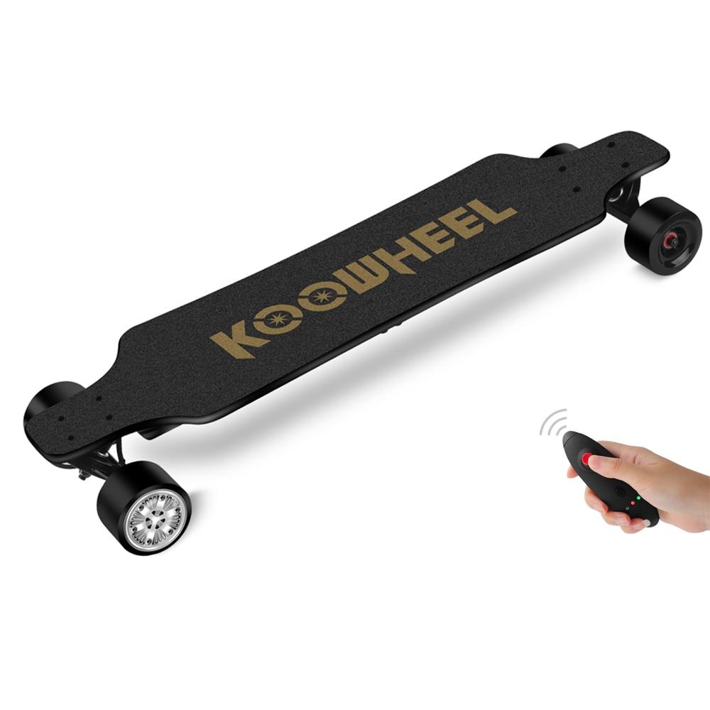 Koowheel 42 Km/h Verbesserte Elektrische Skateboard 4 Rad Onyx Elektrische Longboard Dual Hub Motor Electrico Hoverboard Skateboard Modern Und Elegant In Mode Sport & Unterhaltung