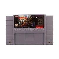 Nintendo SFC SNES Video Game Cartridge Console Card Super Castlevania IV USA English Language Version