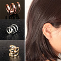 1pc Unisex Punk Ear Clip Cuff Wrap Non-pierced Clip-On Earring brinco Fashion Jewelry Gift EAR-0120