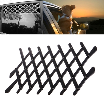 Pet Dog Car Window Ventilation Safe Guard Mesh Vent Protective Fence Outdoor 1