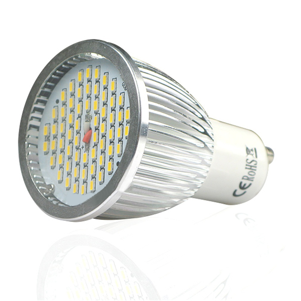 ICOCO GU10 8W 60 SMD LED Warm White Spot Light Bulbs Bright Lamp