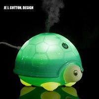 Household Appliances LED Tortoise Air Humidifier Air Freshener Ultrasonic Mist Maker For Car Home Aroma Diffuser