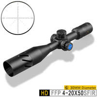 Discovery HD 4 20X50SFIR FFP Scopes High Power Hunt Weapon Shooting Optical Sights Riflescopes First Focal Plane Lock Turrets