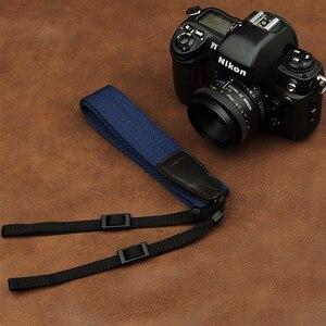 Image 3 - Cam in 8001 8015 العالمي قابل للتعديل القطن والجلود شريط كاميرا الرقبة الكتف تحمل حزام لكانون سوني نيكون SLR كاميرا