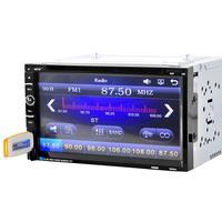 Авто Радио S 7 ''двойной 2 DIN сенсорный экран в тире автомобиля стерео Радио MP3 CD DVD плеер FM AUX дропшиппинг jul6