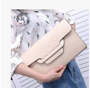 купить 2014 New Fashion Women's PU Leather Clutch Bag Handbag with Snake Pattern Queen Style дешево