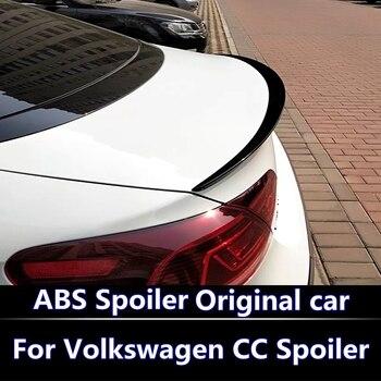 Pour Volkswagen CC Spoiler haute qualité ABS matériel voiture aile arrière apprêt couleur aileron arrière pour 2009-2016 CC Spoiler