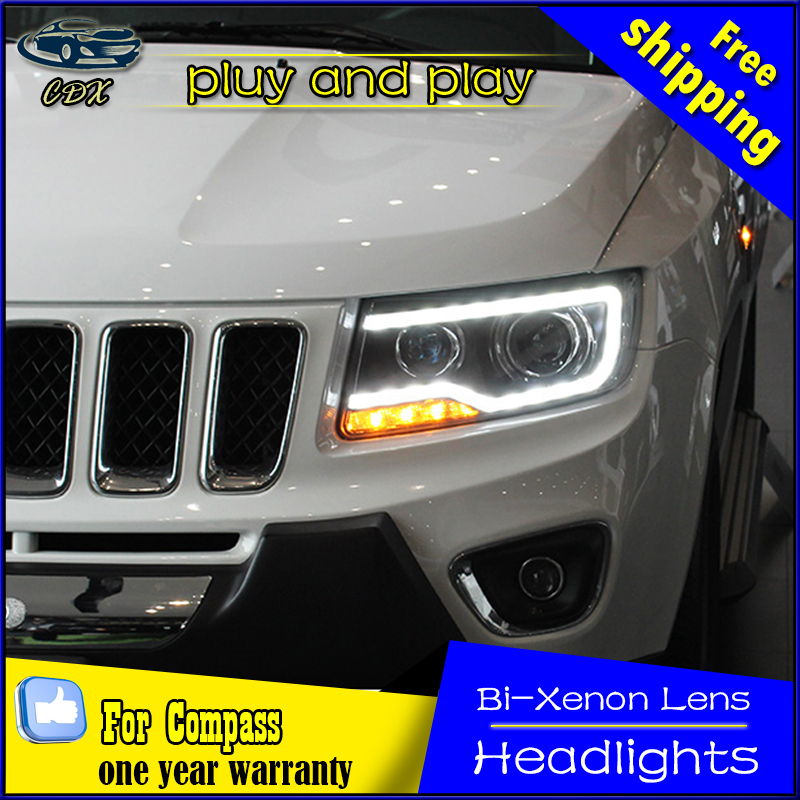 popular jeep compass headlight buy cheap jeep compass. Black Bedroom Furniture Sets. Home Design Ideas