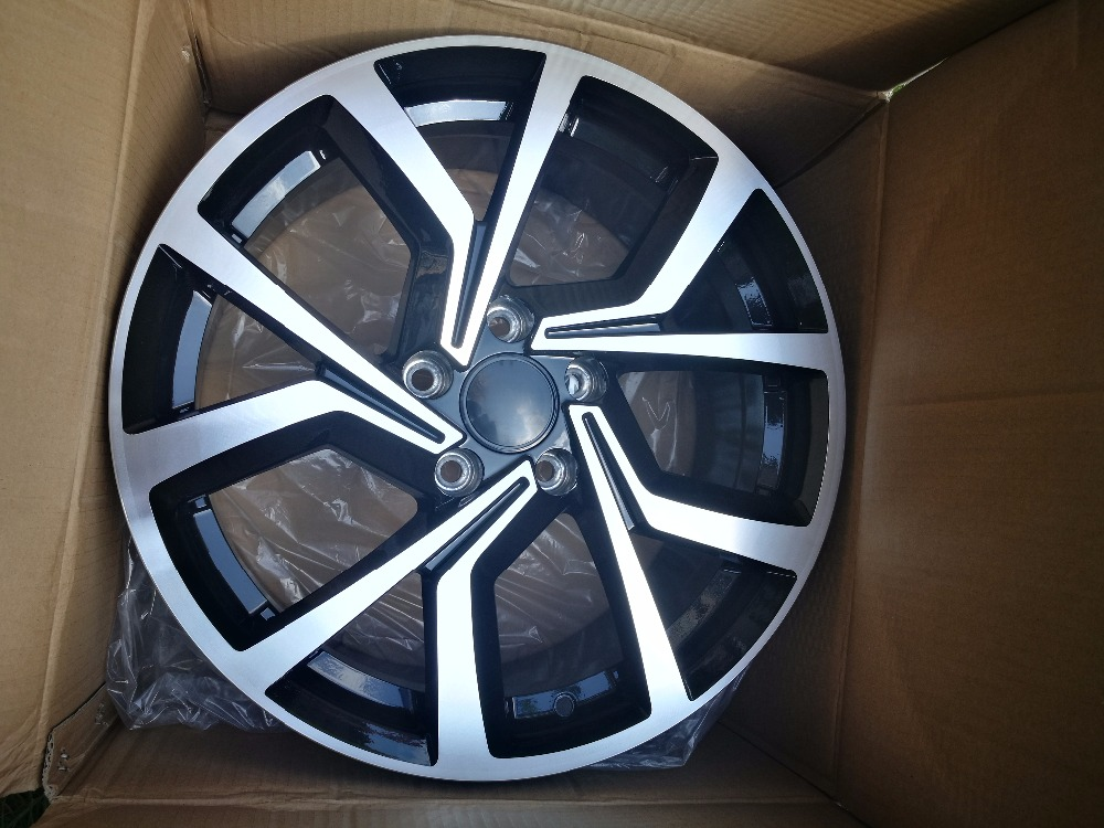 17 18 19 inch car alloy wheels fit for audi volkswagen golf passat polo fox in wheels from. Black Bedroom Furniture Sets. Home Design Ideas