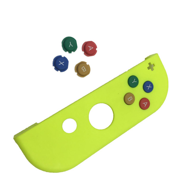 Colorful Plastic ABXY Directions Keys Buttons Set for Nintendo Switch Right Controller Joy Con