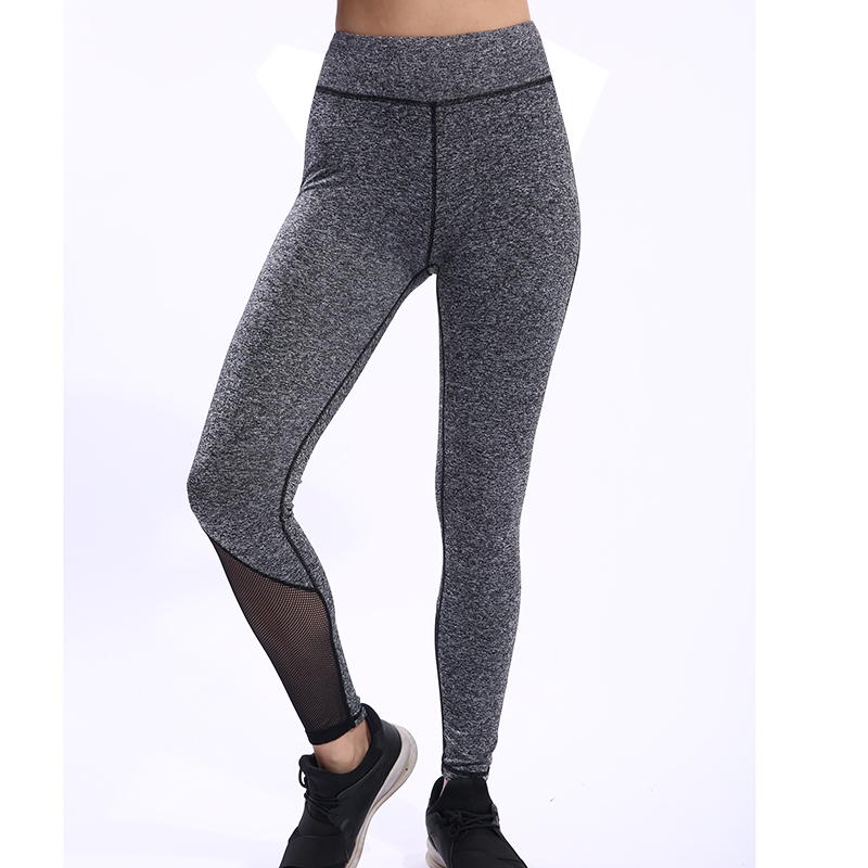 BESGO Sports Pant For Women High Elastic Mesh Patchwork Running Leggings Breathable Profession Fitness Yoga Quick Dry Trousers