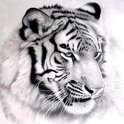 Diy Diamante Redondo diamand Pintura Tiger Stitch Rhinestone Pegado - Artes, artesanía y costura