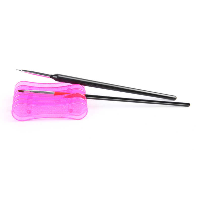 ROSALIND 1 adet tırnak resim fırçası kalemler tırnak fırçaları UV jel lehçe boyama çizim fırçalar tırnak manikür araçları