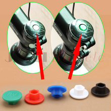 The bicycle bowl set Headset cover Screw cap Bicycle head Heighten device M6 Screw cap MTB Road bike Folding Track Bike bicycle fork washer 28 6mm bicycle bowl set the bike front mtb road bike fixed gear track bike headsets accessories equipment