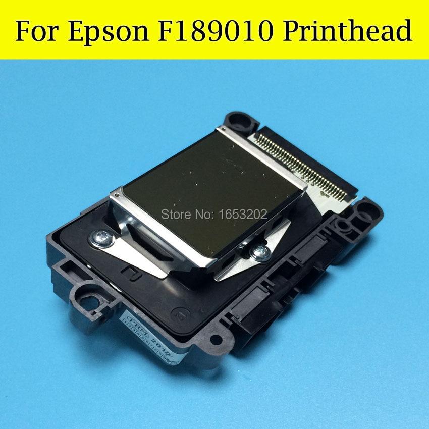 1 PC 100% New UNLOCKED Original Print Head Printhead F189010 For EPSON B310dn B510dn/B300dn B500dn/B308 B508 Printer Head high quality original dx7 print head f189010 printhead first locked printer head
