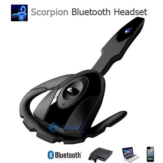 Scorpion Rechargeable Bluetooth Headset Gaming Bluetooth Headphone Cool Wireless Game Earphone
