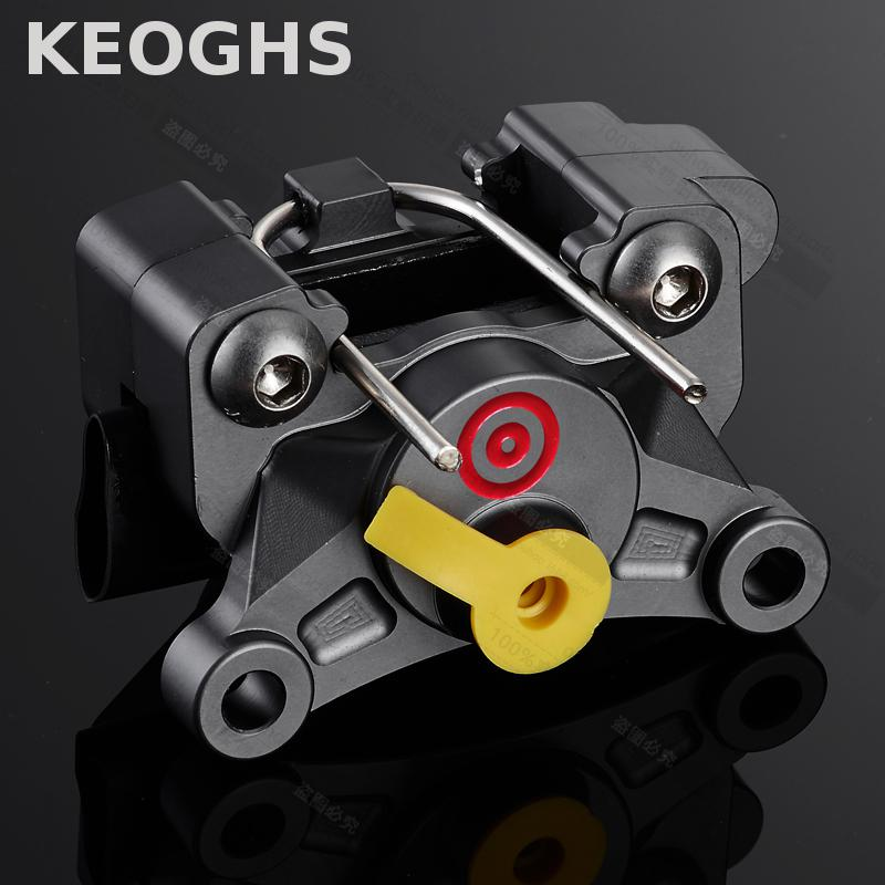 KEOGHS Motorcycle Brake Caliper 64mm Location 2 Piston p2 24mm Cnc Aluminum Quality For Honda Yahama Kawasaki Ducati Suzuki keoghs real adelin 260mm floating brake disc high quality for yamaha scooter cygnus modify