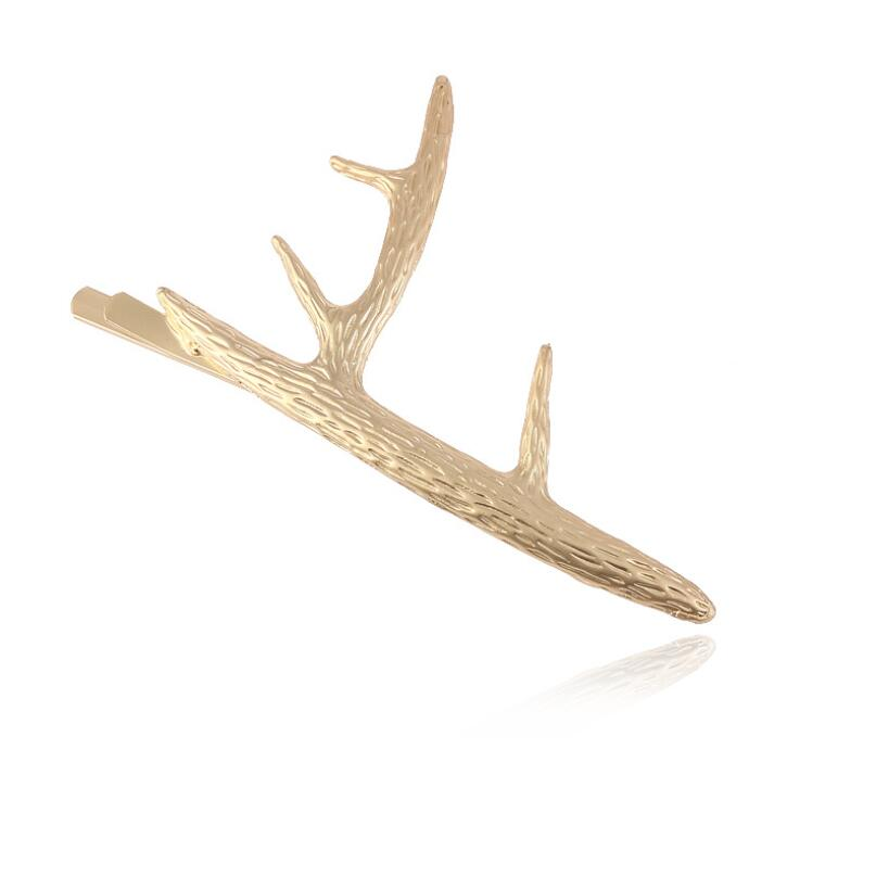 Hfarich Gold Cat Pineapple Hair Clips for Women Headwear Branch Hair pins Star Round Geometric Hair Accessories 2019 in Hair Jewelry from Jewelry Accessories