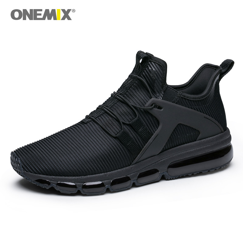 купить Onemix air running shoes for men athletic sneakers jogging trekking shoe mesh vamp Sneaker light walking sneakers big size 36-47 по цене 3059.21 рублей