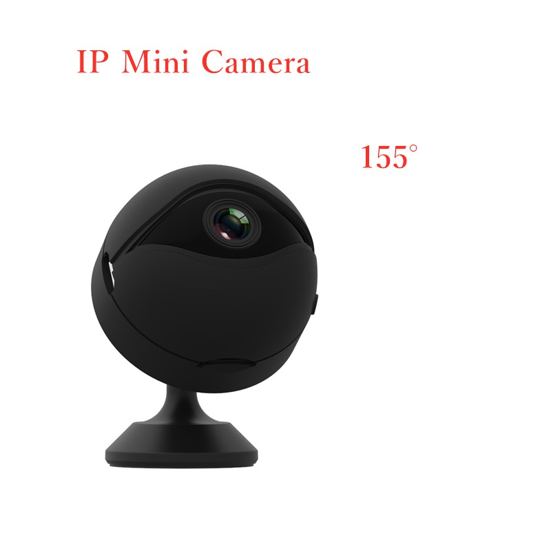 Mini caméra Wifi caméra IP sans fil télécommande App soutien détection de mouvement 155 degrés grand Angle IR Vision nocturne Secret HD