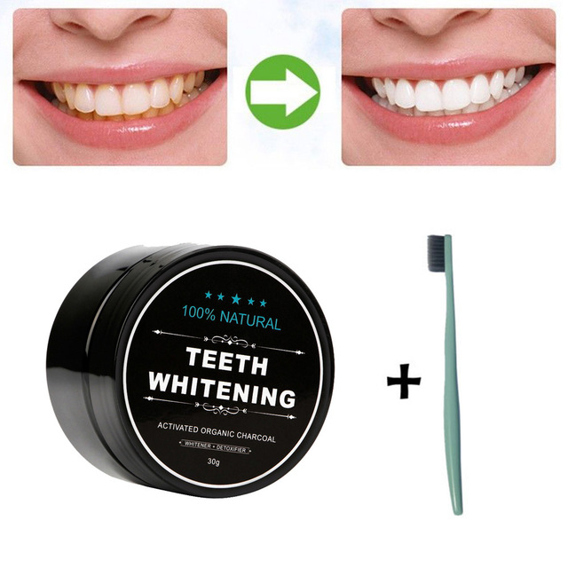 Cheap New Teeth Whitening Powder Natural Organic Activated