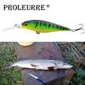 1Pcs Minnow fishing lure 11cm 10.5g crankbait iscas artificiais Fishing wobblers 6# hook 3D eyes leurre Fishing Tackle YR-197
