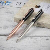 Emoshire Einfache Metall Kugelschreiber Schreiben Unterzeichnung Student Schreibwaren Schule Bürobedarf 0,5mm Refill Roller Kugelschreiber P480