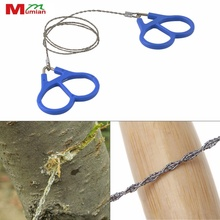 Outdoor Plastic Steel Wire Saw Ring Scroll Emergency Survival Gear Travel Camping Hiking Hunting Climbing Survival Tool Hot Sale