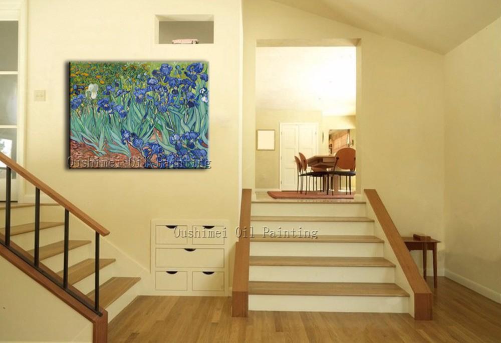 Vincent Gogh Minyak Iris 1