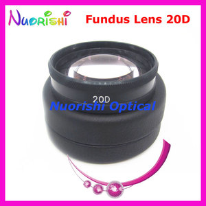 Image 2 - 20D As Good As volk Lens! Ophthalmic Aspheric Fundus Retina Slit Lamp Contact Lens Black Leather Metal Case Packed Free Shipping