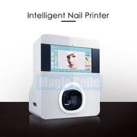 Новые и best DIY Цифровой Мобильный Nail Книги по искусству принтер Finger Автоматическая роспись ногтей машина для Красота салон использовать