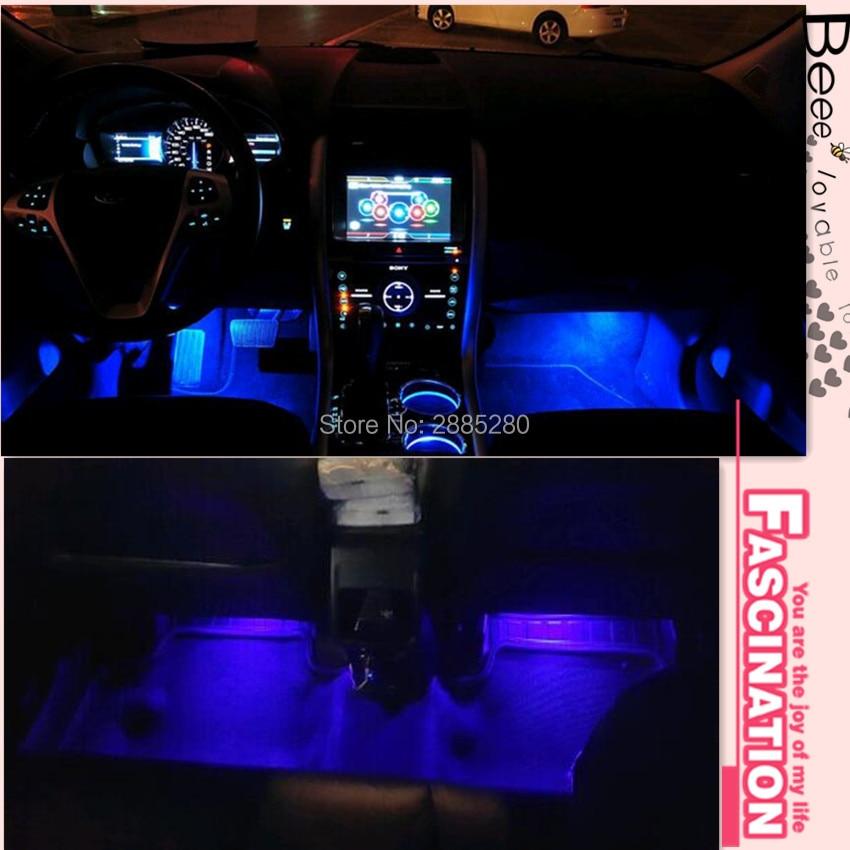 Us 10 3 20 Off Car Interior Led Light Decorative Atmosphere Light Lamp For Suzuki Swift Grand Vitara Sx4 Jimny 2016 Jeep Wrangler In Car Stickers