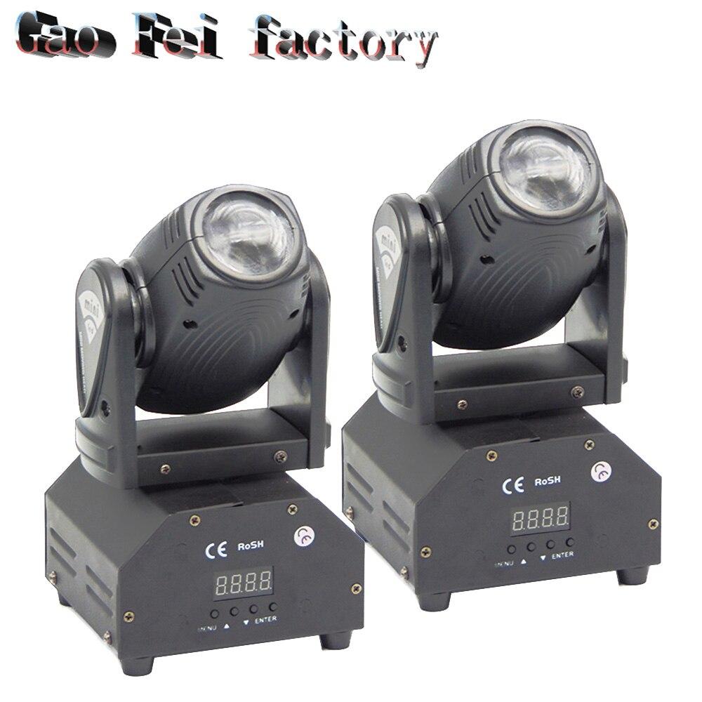 led beam moving head 10W led RGBW 4in1super bright LED DJ Spot Light dmx control lights|beam bar|10w moving head|moving head - title=