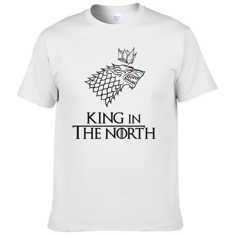 Game of Thrones   T     Shirt   Men Tshirt 2016 New Cool The North Remembers Blood Wolf   T  -  shirt   Men's Tee   Shirts   Camisetas #077