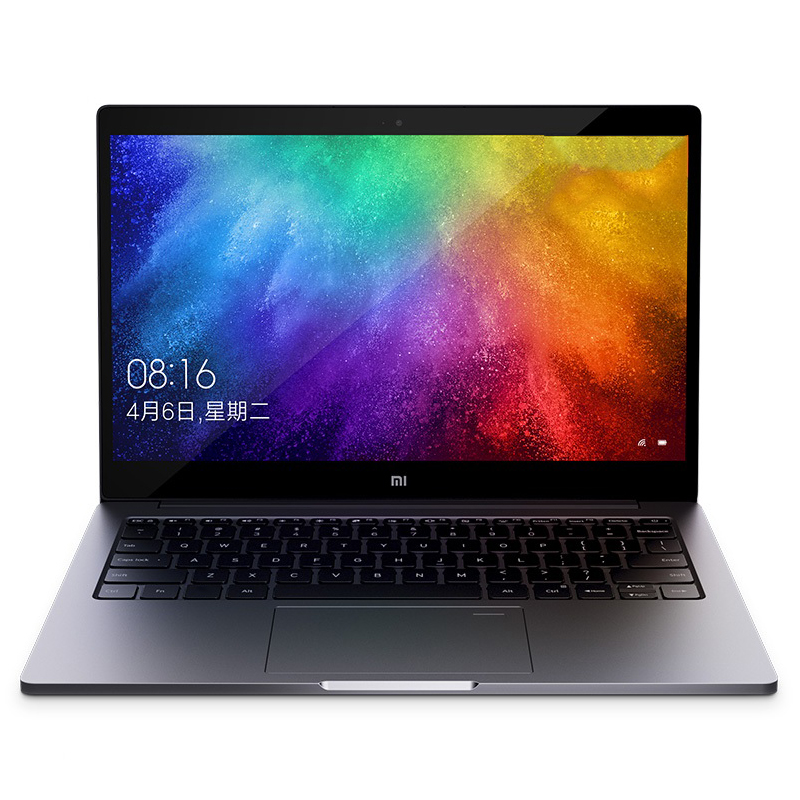 Xiao mi ar 2019 13.3 laptop laptop computador portátil windows 10 os/intel core i7 8550U 8 gb ram 256 gb ssd/sensor de impressão digital/câmera 1.0mp - 2